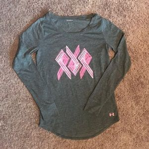 UA Breast Cancer long sleeve